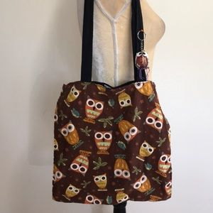 Deluxe Junque Custom Made Owl Tote